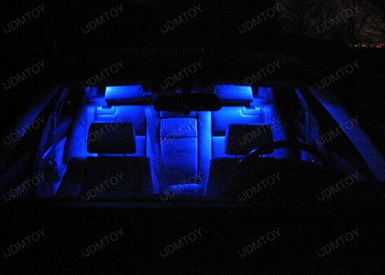 BMW - E39 - 525i - LED - car - interior - lights - 4